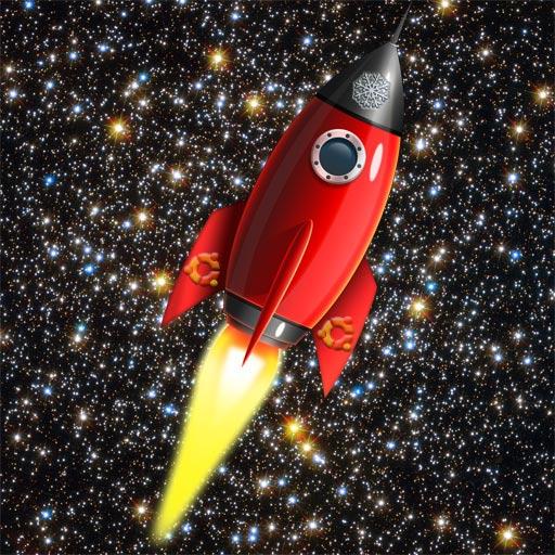 Arch-Linux Rocket In Sky