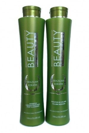 Escova Progressiva Beauty Brazilian Keratin 2x1000ml