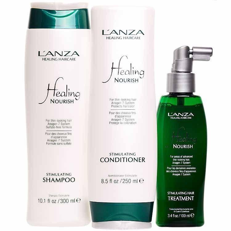 Lanza Healing Nourish Kit (3 Produtos)