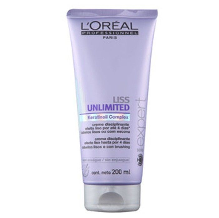 Loreal Creme Disciplinante Liss Unlimited 200ml