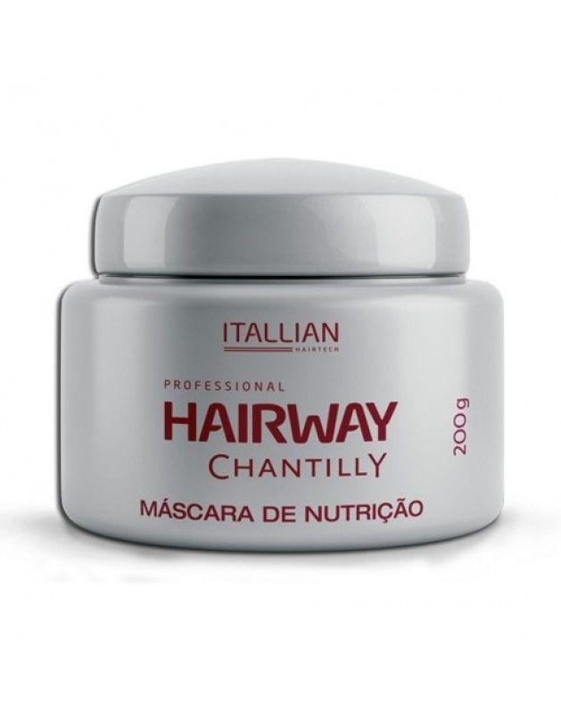 Máscara Chantilly Hairway Itallian Color 200g