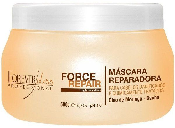 Máscara Force Repair Forever Liss 250g