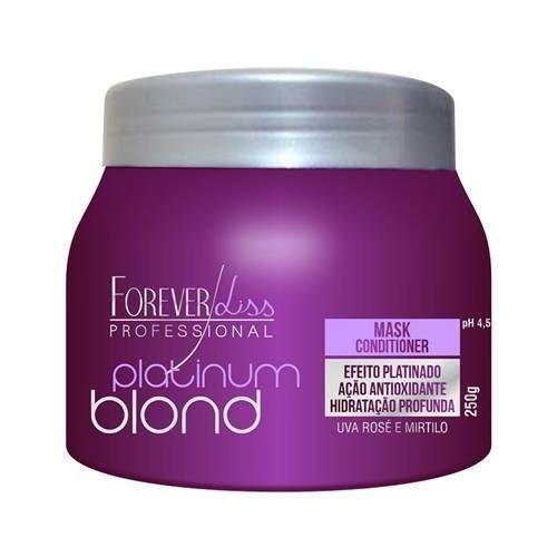 Máscara Matizadora Platinum Blond Forever Liss 250g
