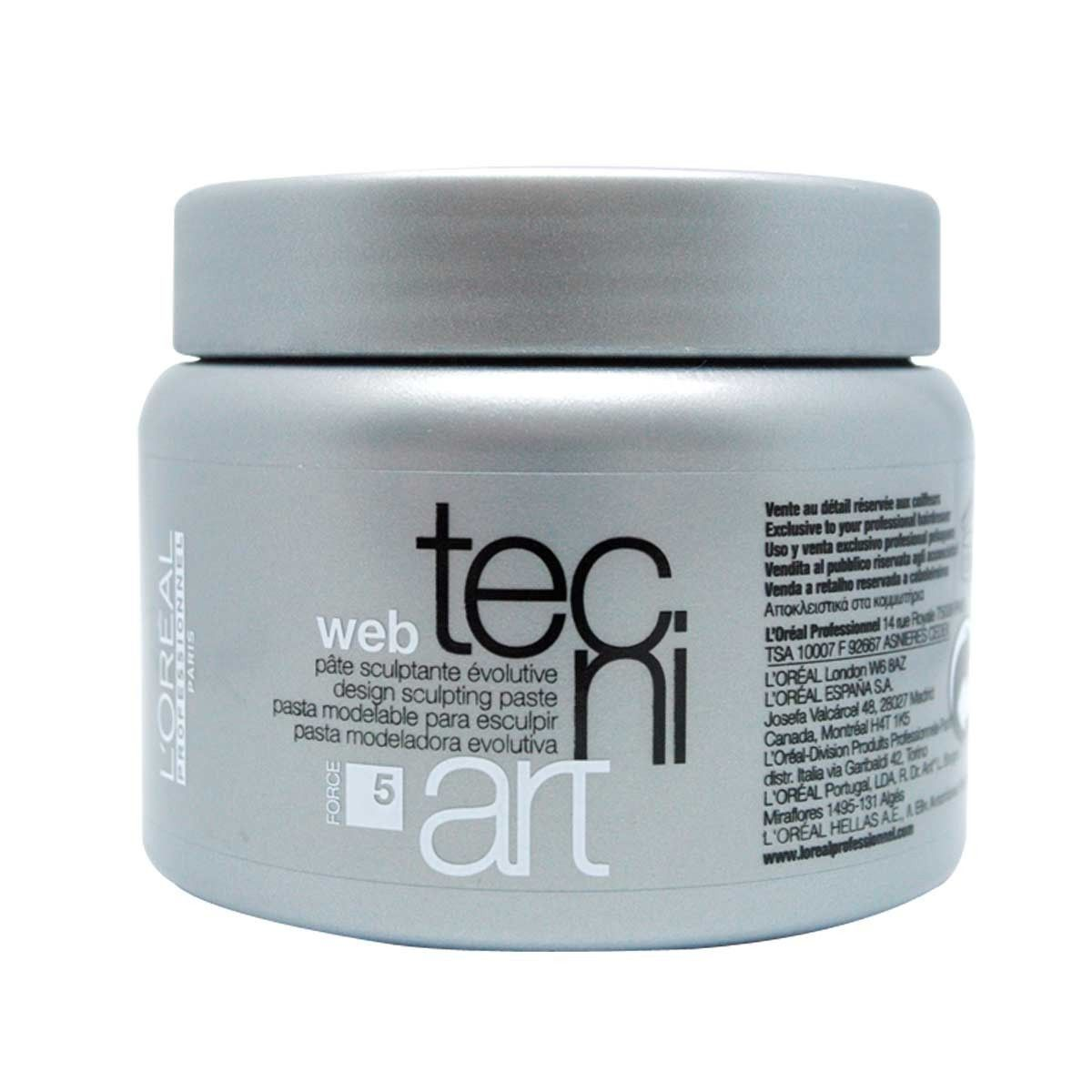 Pasta Modeladora Tecni.Art A Head Web Loreal 150ml