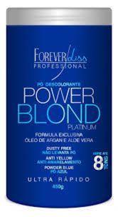 Pó Descolorante Azul Power Blond Forever Liss 450g