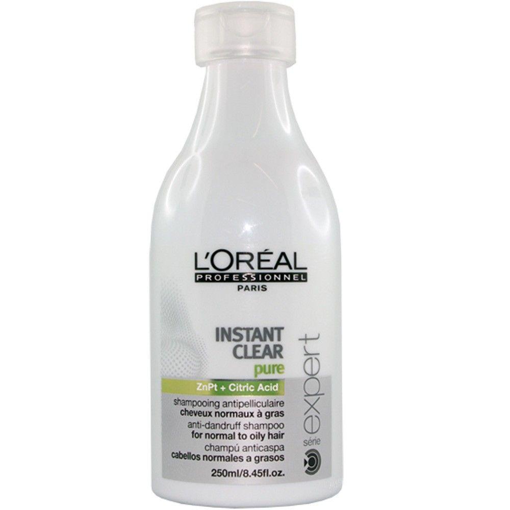 Shampoo Anticaspa Scalp Instant Clear Pure Loreal 250ml