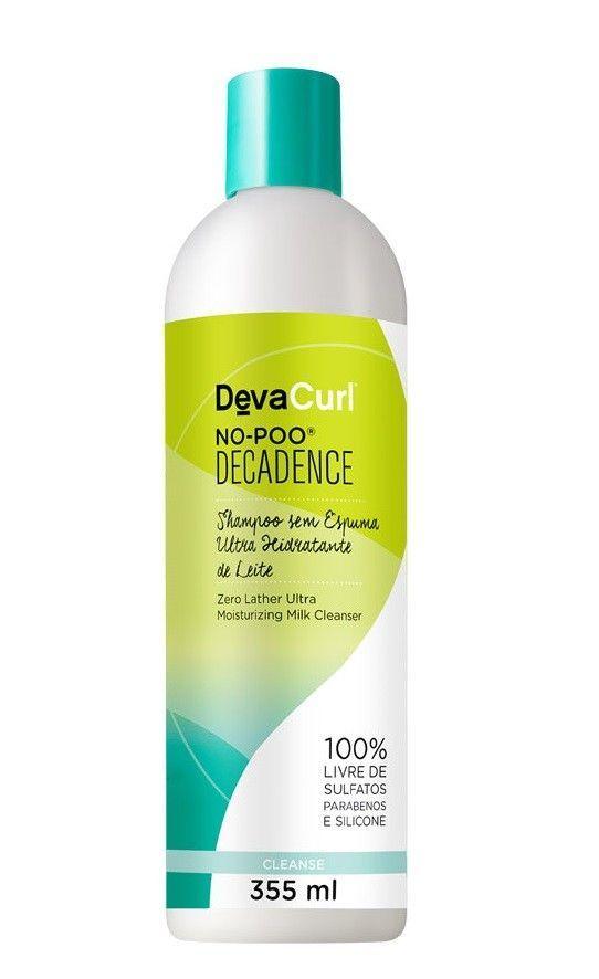 Shampoo Sem Espuma Deva Curl No Poo Decadence 355ml
