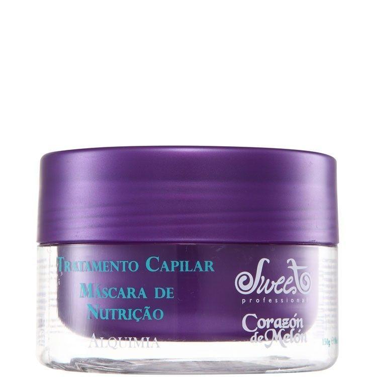 Sweet Hair Corazón de Melón Alquimia - Máscara de Tratamento 150g
