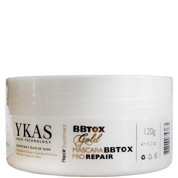 Ykas Bbtox Gold Máscara Pro Repair 120g