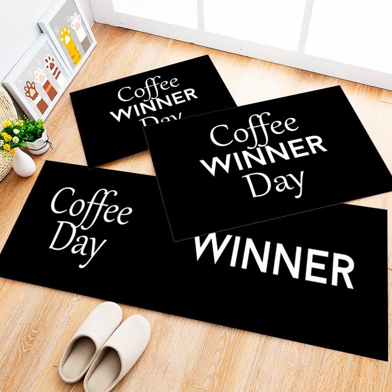Tapete Cozinha Coffe Winner, 3 pçs - 40x120cm