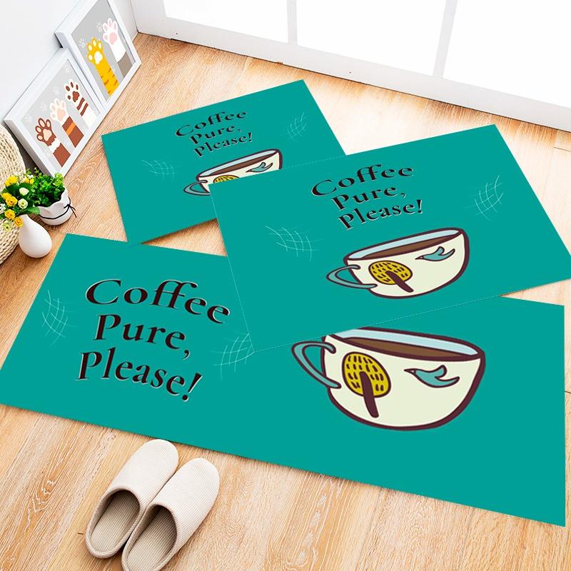 Tapete Cozinha Coffee Pure, 3 pçs - 40x120cm