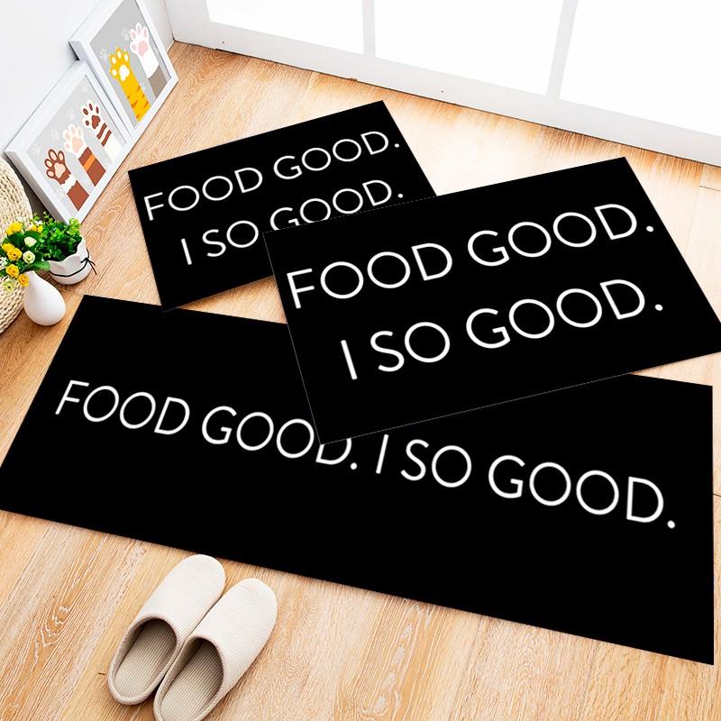 Tapete Cozinha Food Good, 2 pçs - 40x120cm