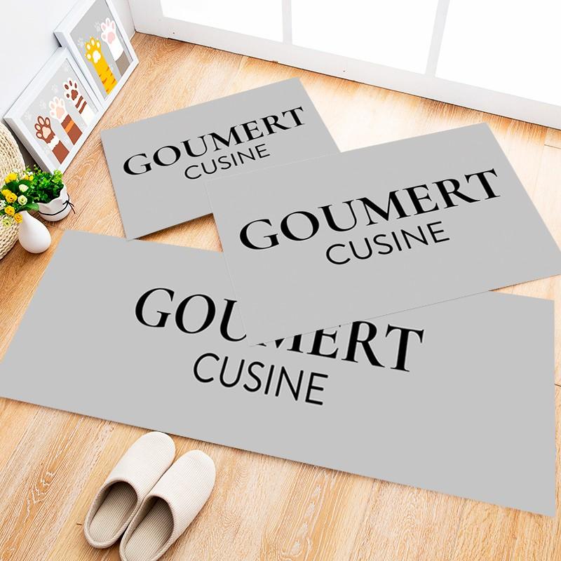 Tapete Cozinha Goumert Cusine, 3 pçs - 40x120cm