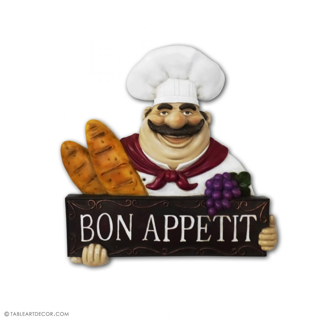 Bon Appetit Chef Kitchen Decor