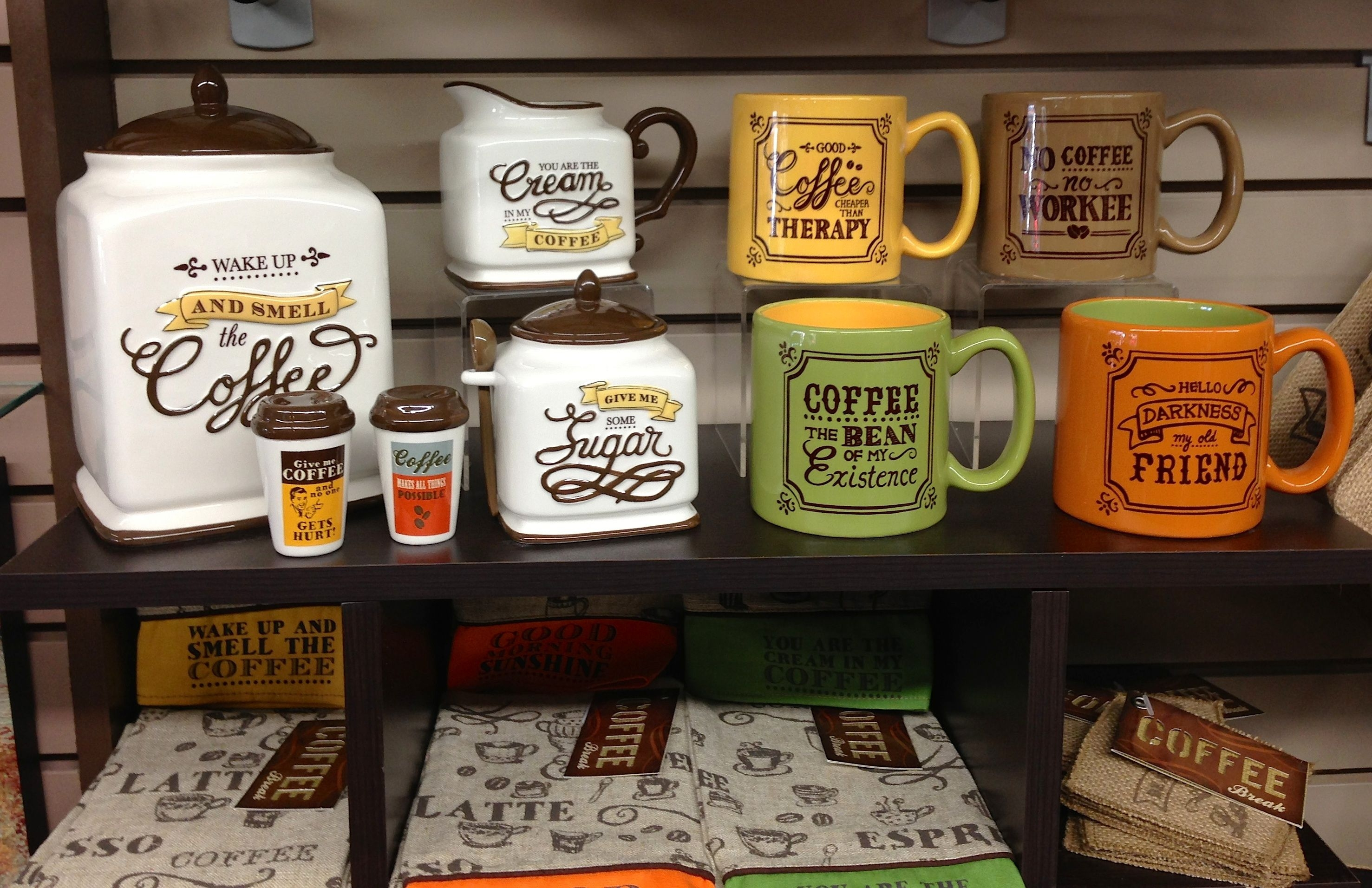 Coffee Themed Kitchen Setscoffee themed kitchen canister sets coffetable