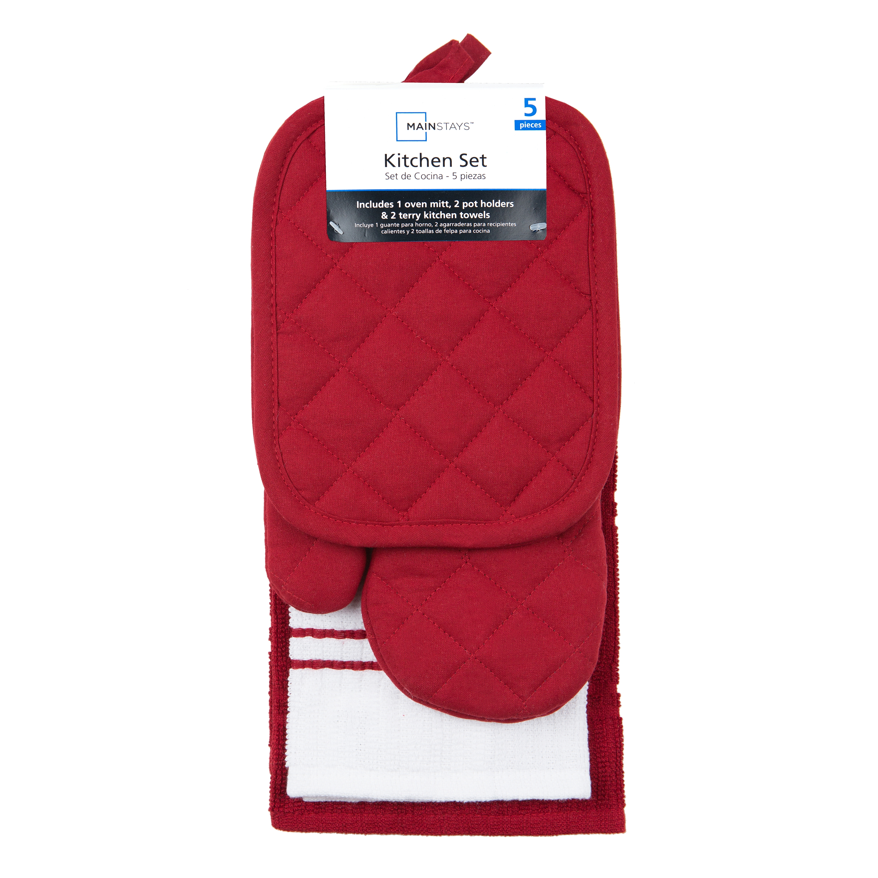 Kitchen Towels And Oven Mitt Sets