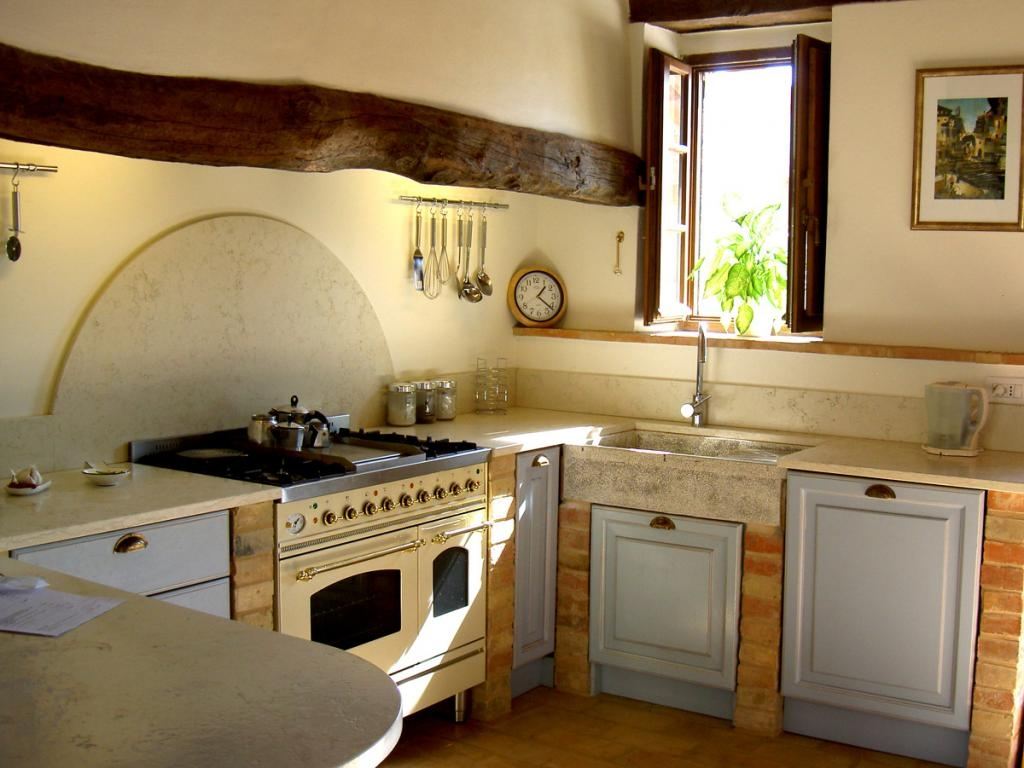 Old Time Country Kitchen Decor