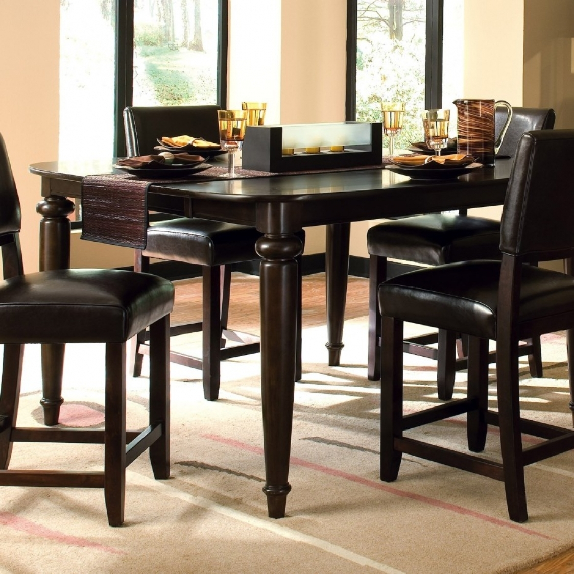 Permalink to Black High Top Kitchen Table Sets