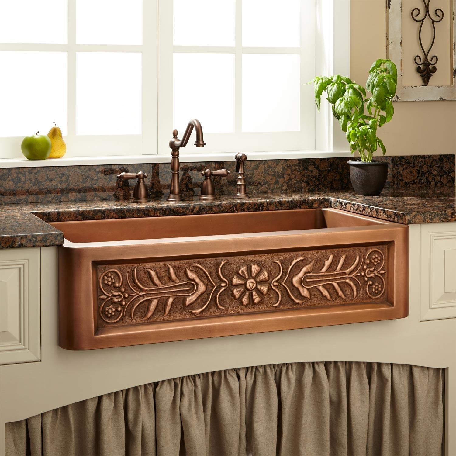 Copper Kitchen Decorative Items