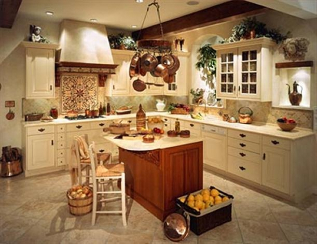 Country Home Decor For Kitchen