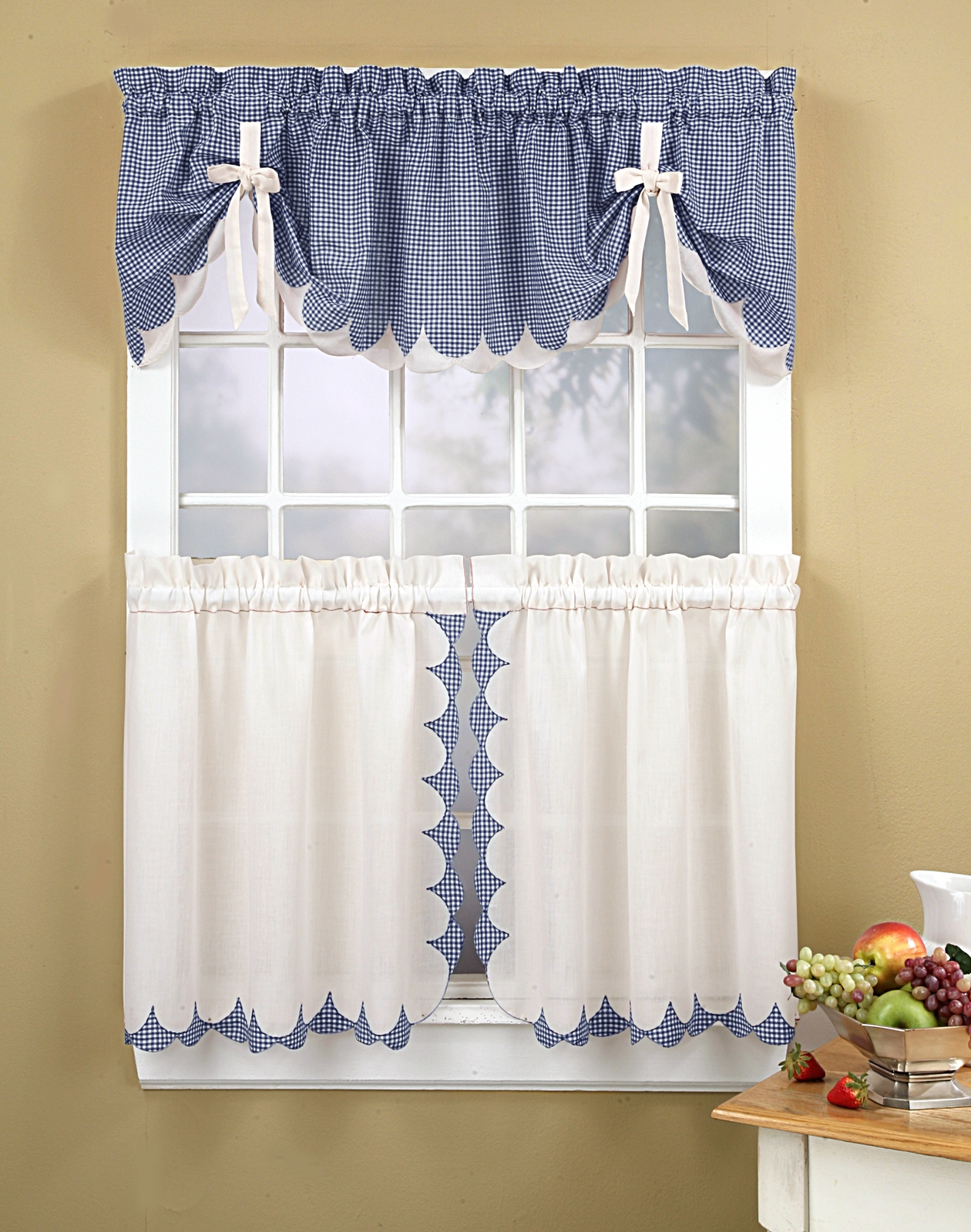 Country Kitchen Curtain Sets