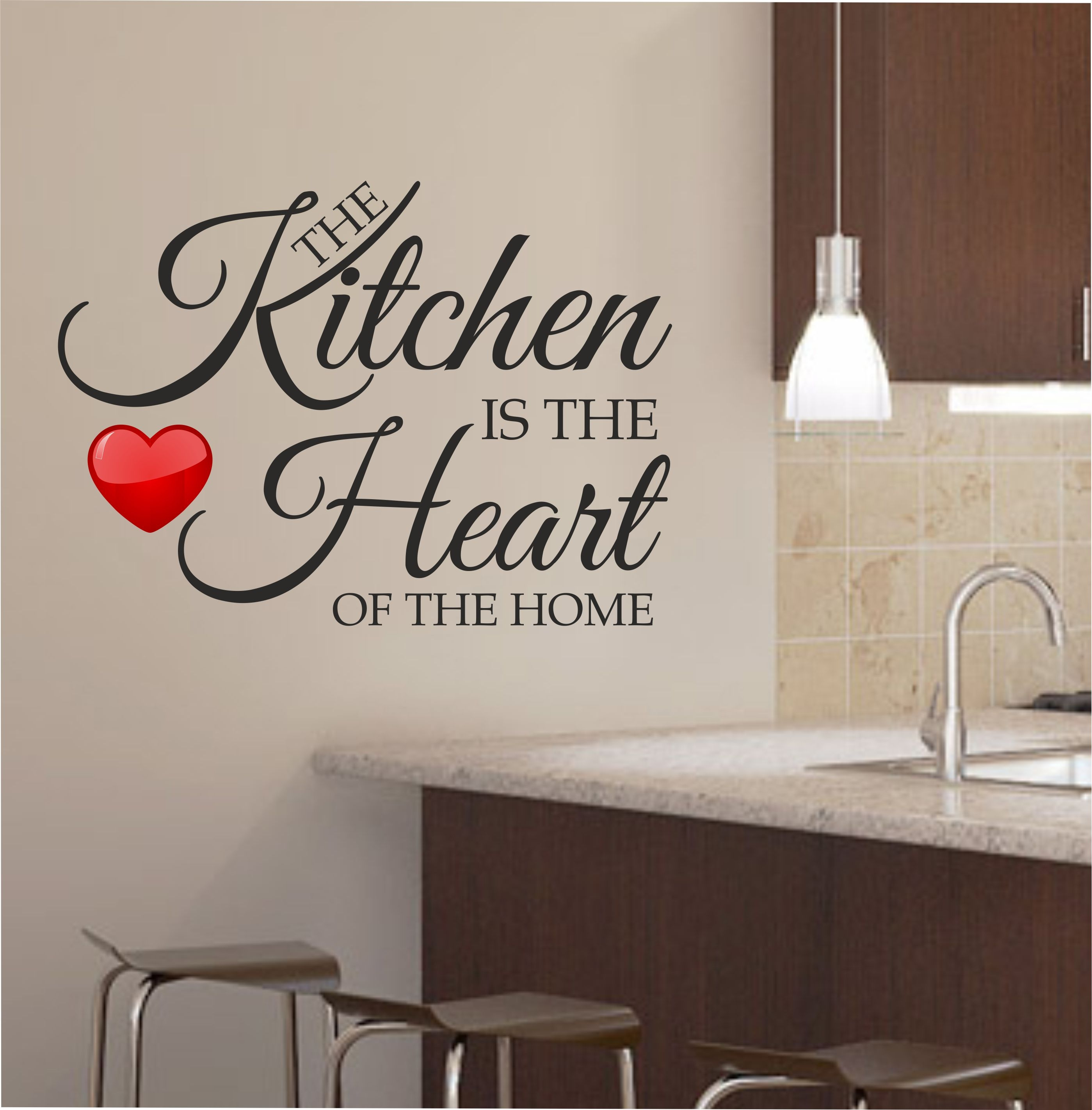 Decorating A Bare Kitchen Wall