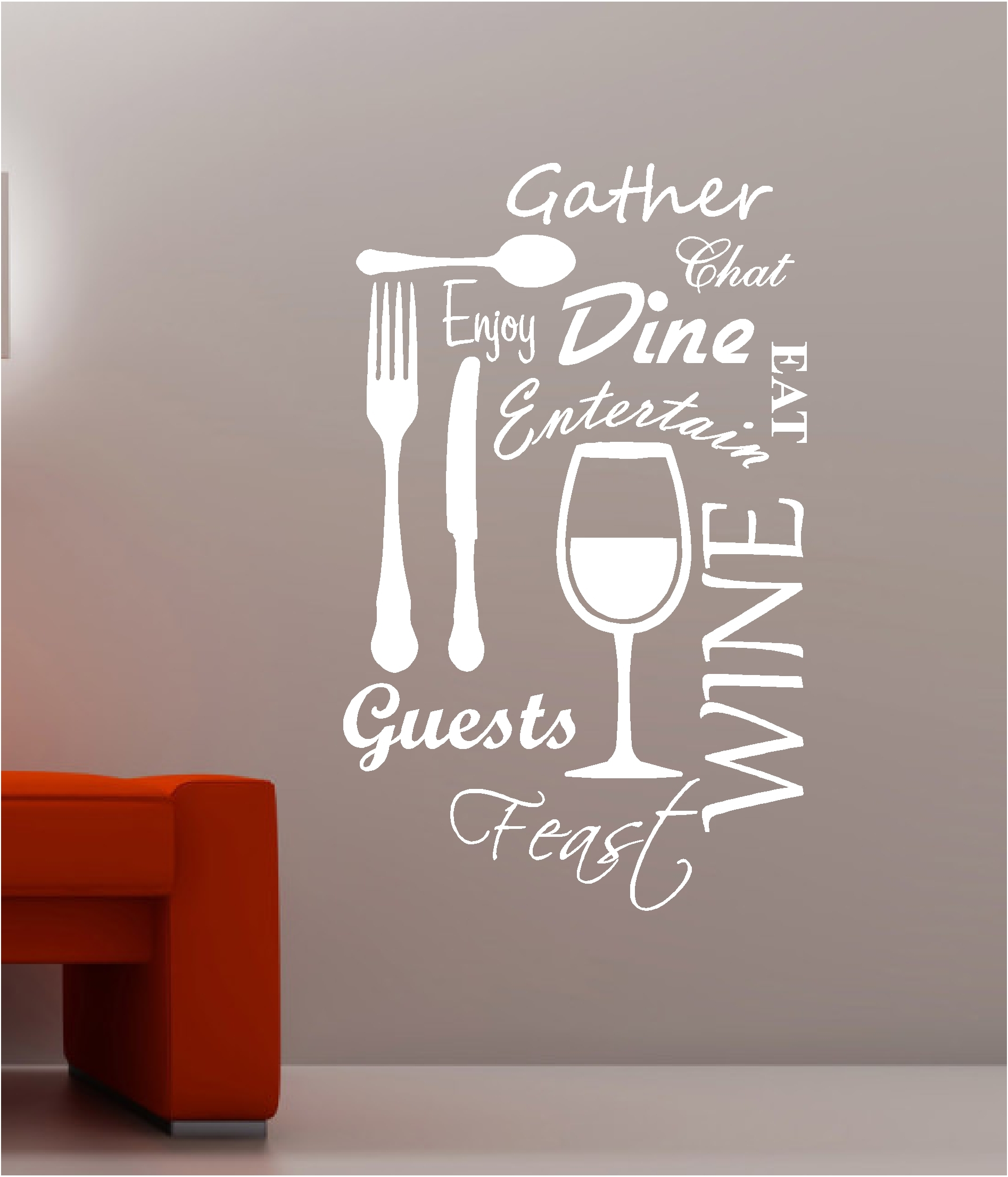 Decorating A Kitchen Wall With Art