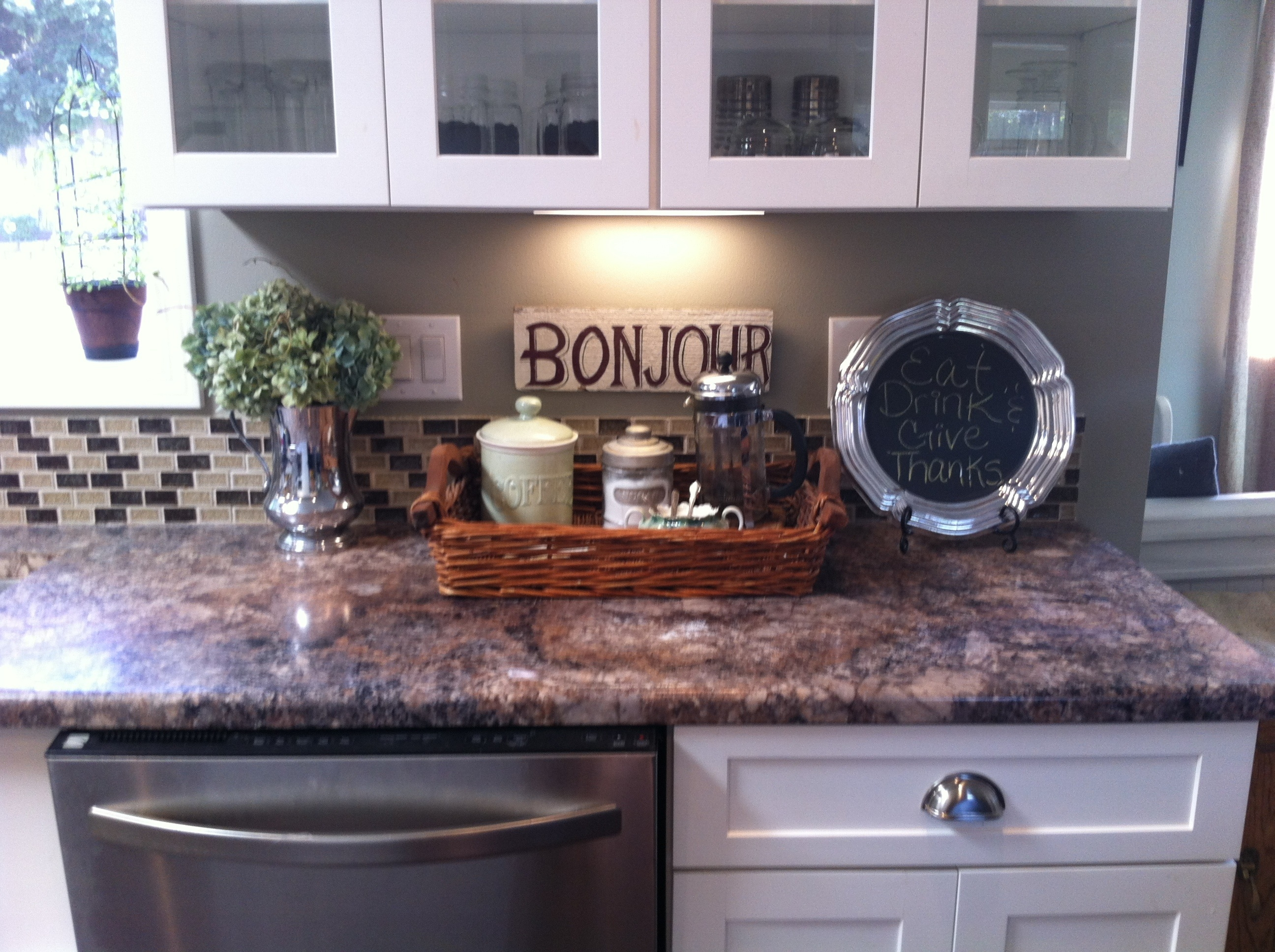 Decorations For Kitchen Counter