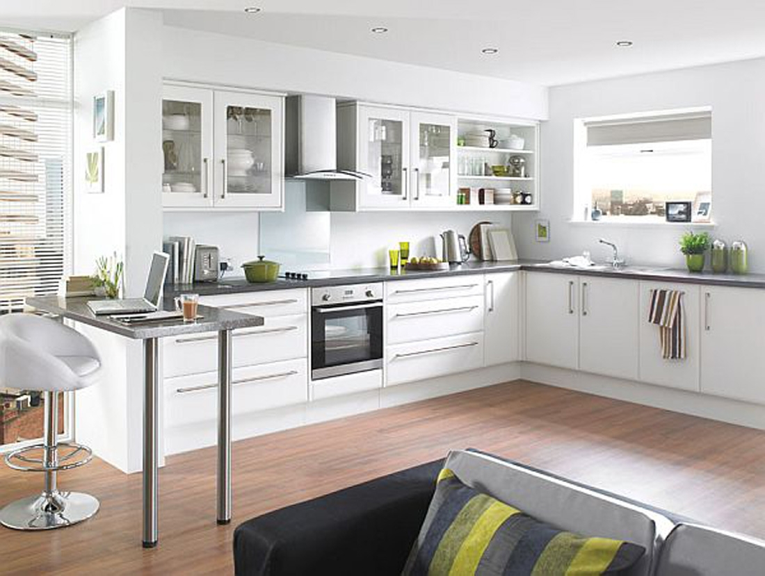 Decorations For White Kitchens