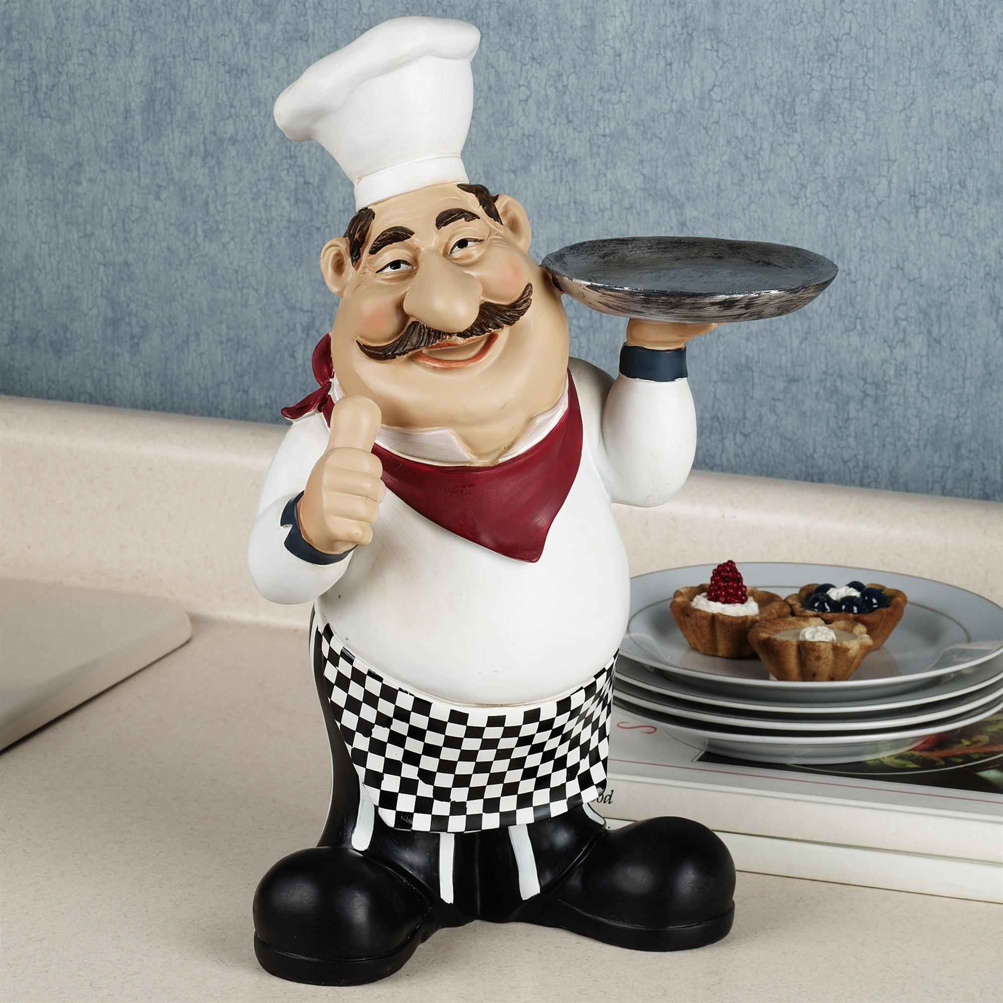 Fat Chef Decorations For Kitchen