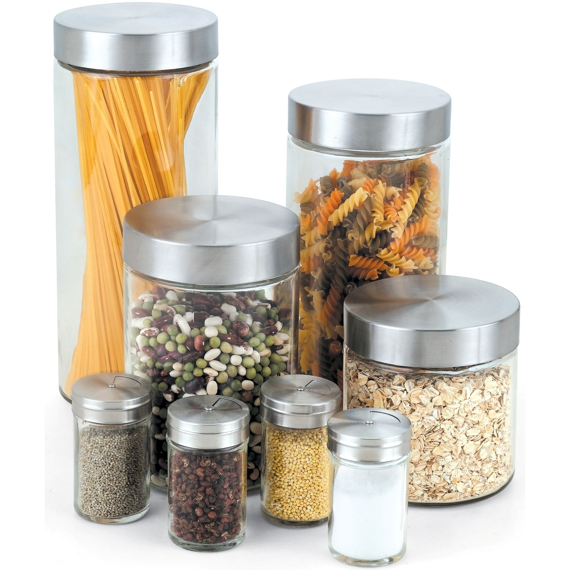 Kitchen Spice Rack Set Of Eight Pieces Kitchen Spice Rack Set Of Eight Pieces cook n home 8 piece glass canister spice jar set cook n home 1860 X 1860