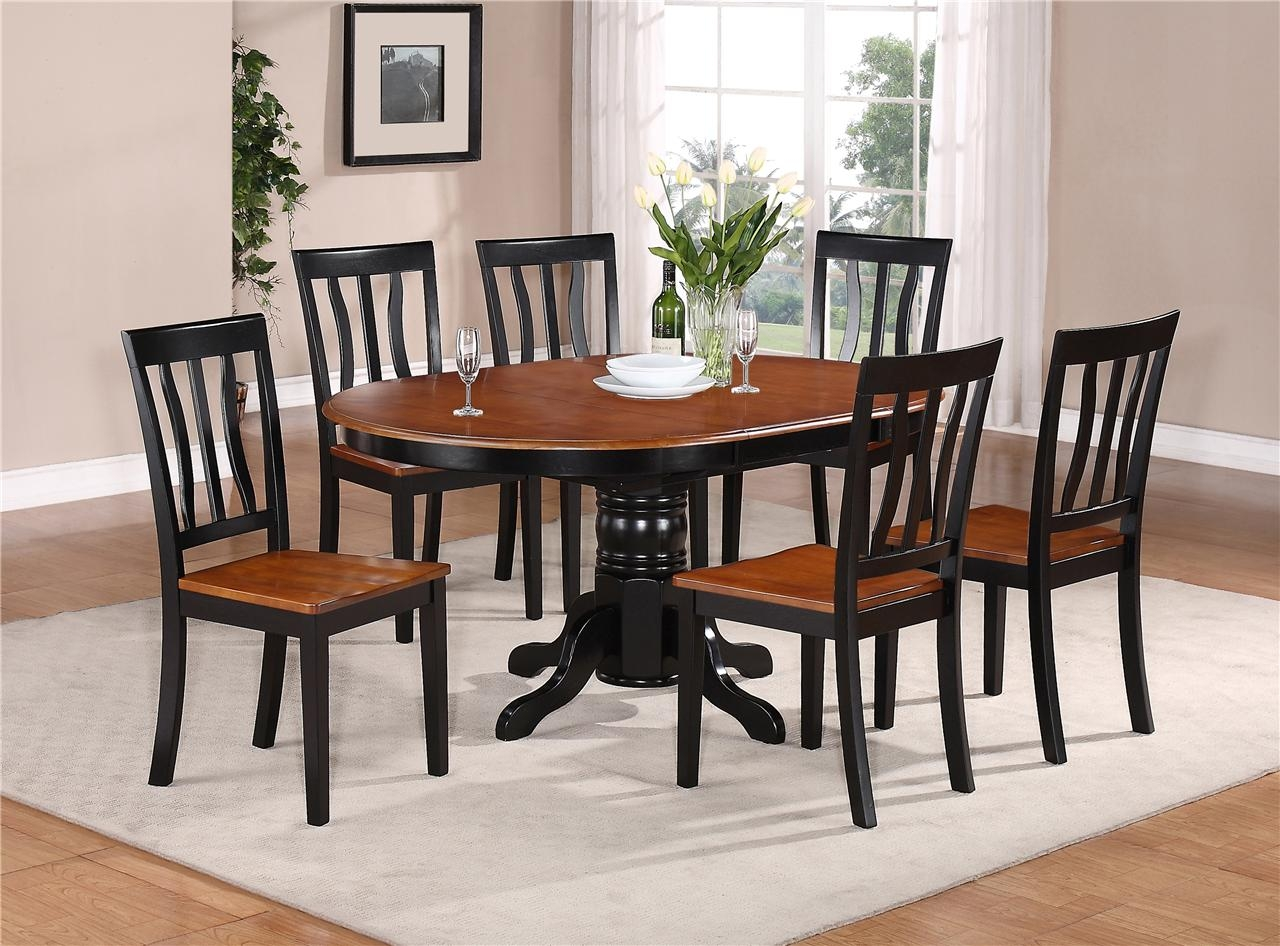 Oval Kitchen Table Sets