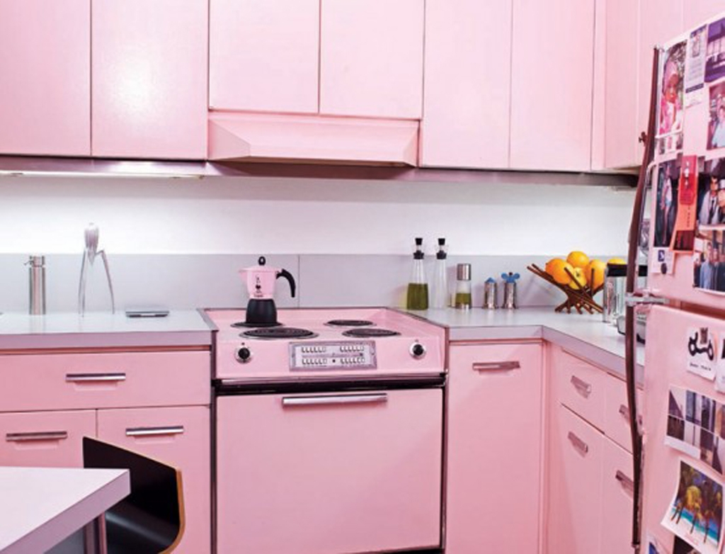 Pink Kitchen Decorating Ideas