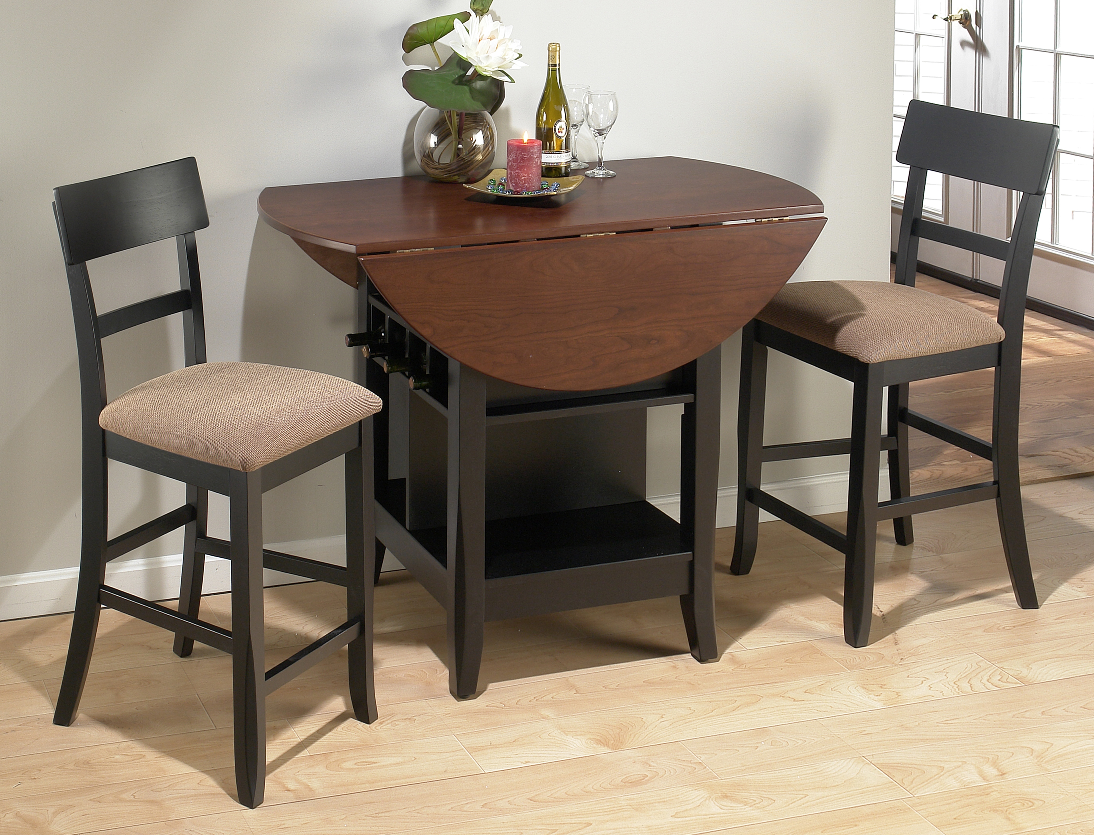 Round Kitchen Table Sets For 2