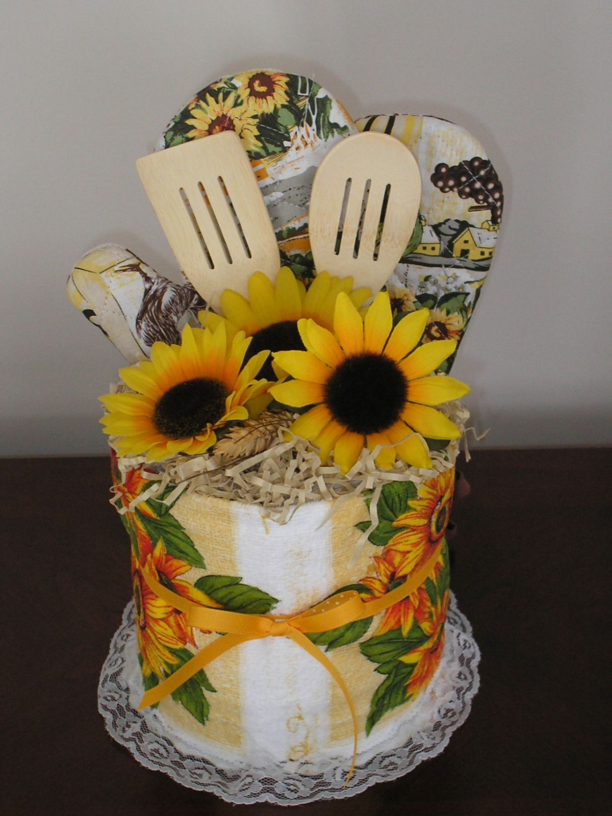 Sunflower Kitchen Decorating Ideas