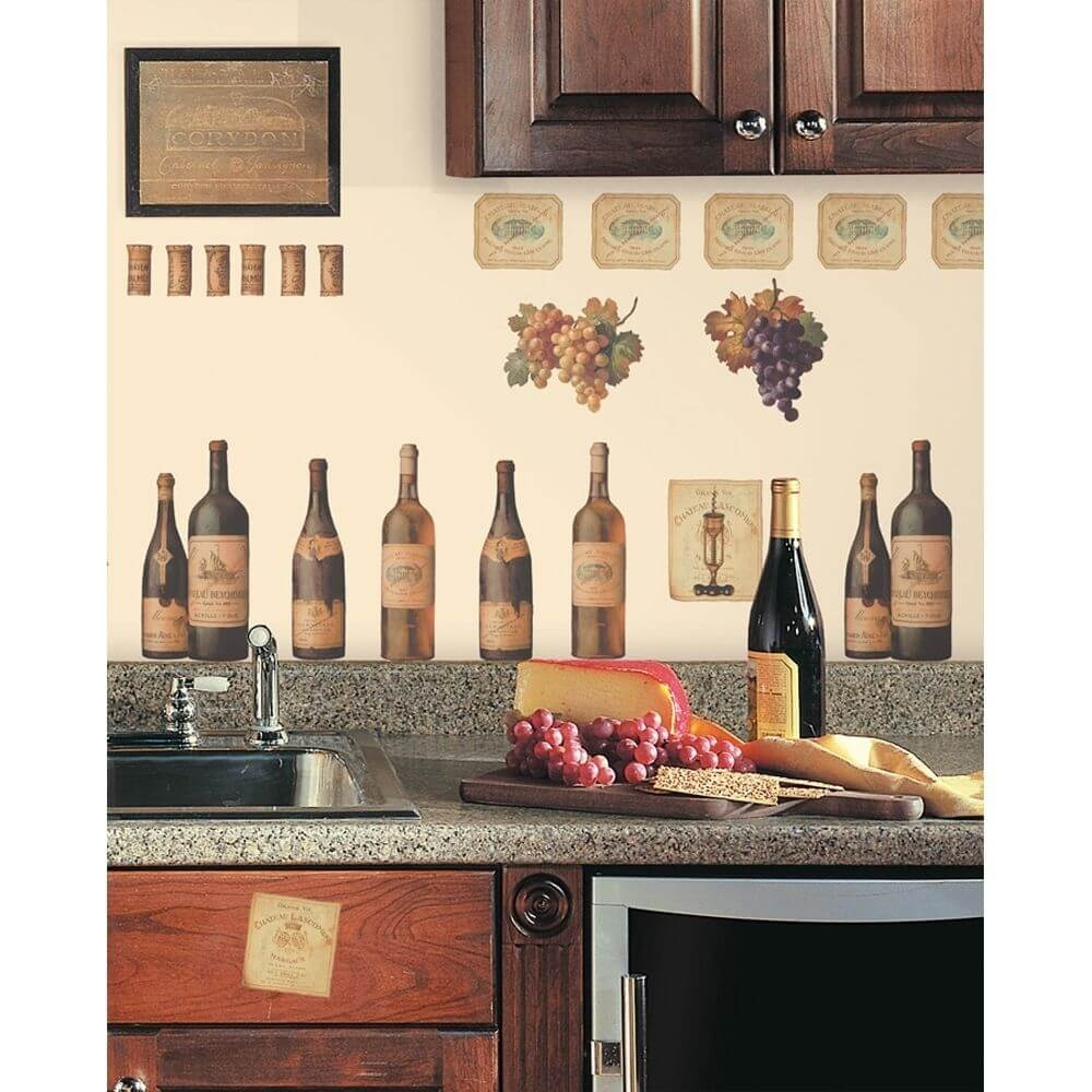 Wine Themed Kitchen Decorations