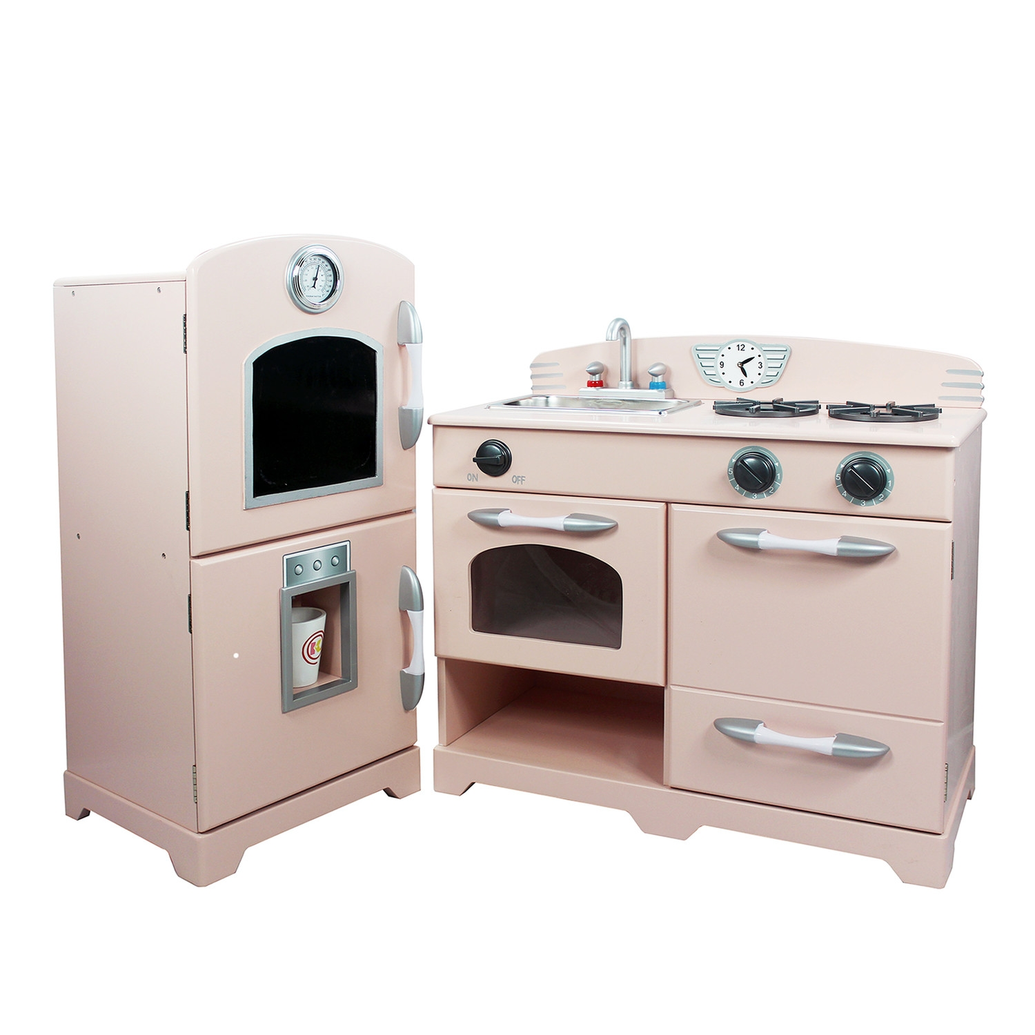Wooden Play Kitchen Sets For Toddlers