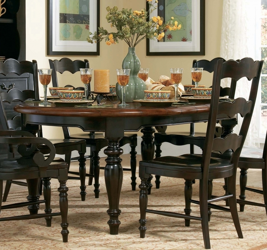 6 Piece Round Kitchen Table Sets