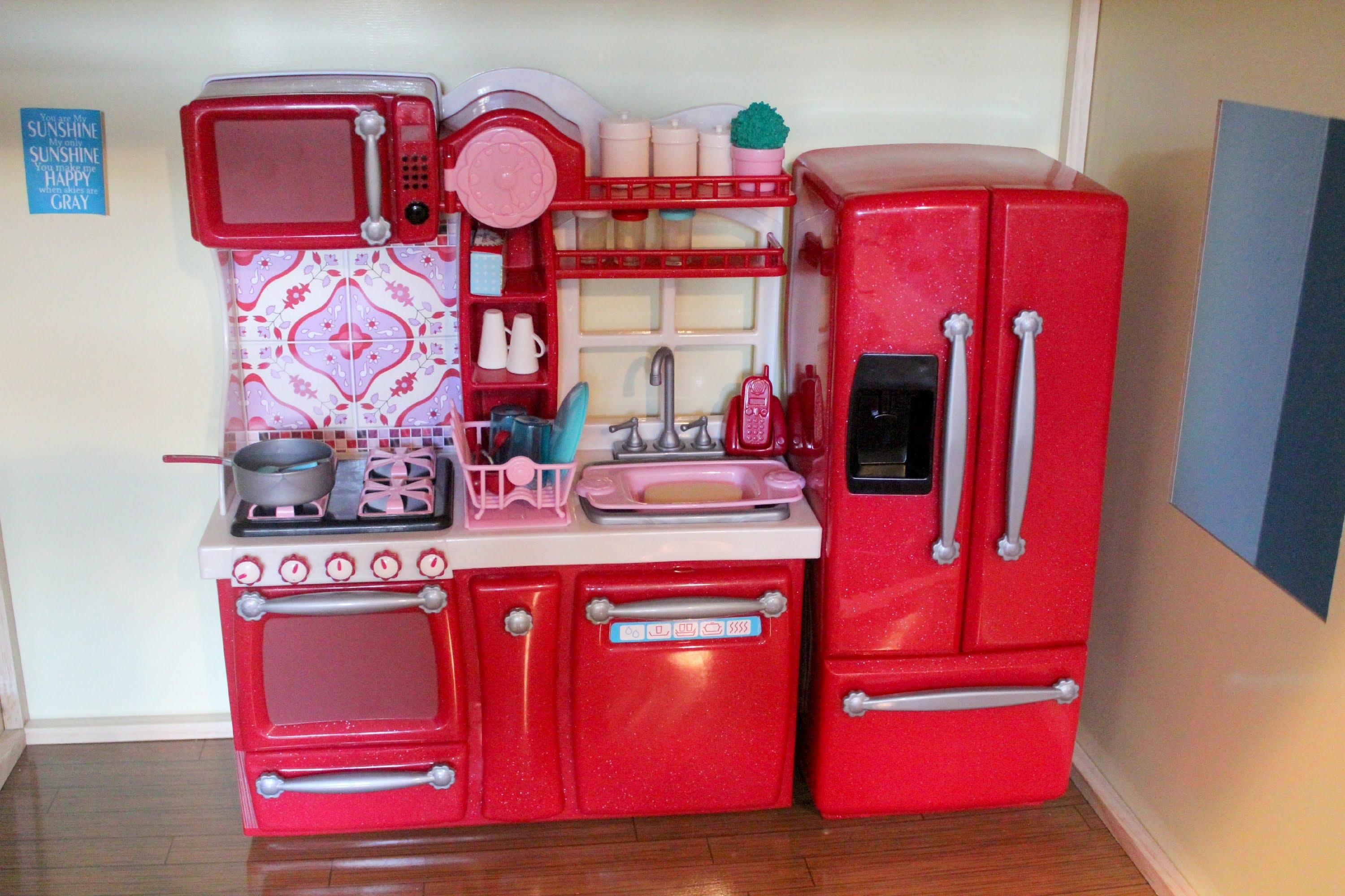 American Girl Our Generation Kitchen Set