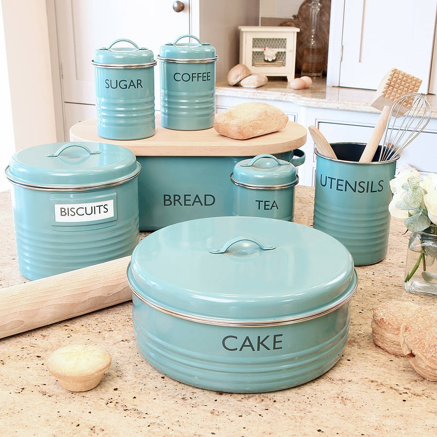 Blue Kitchen Storage Sets