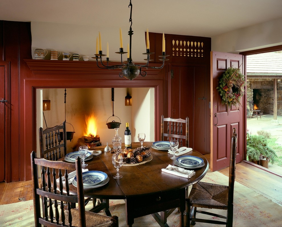British Colonial Kitchen Decor