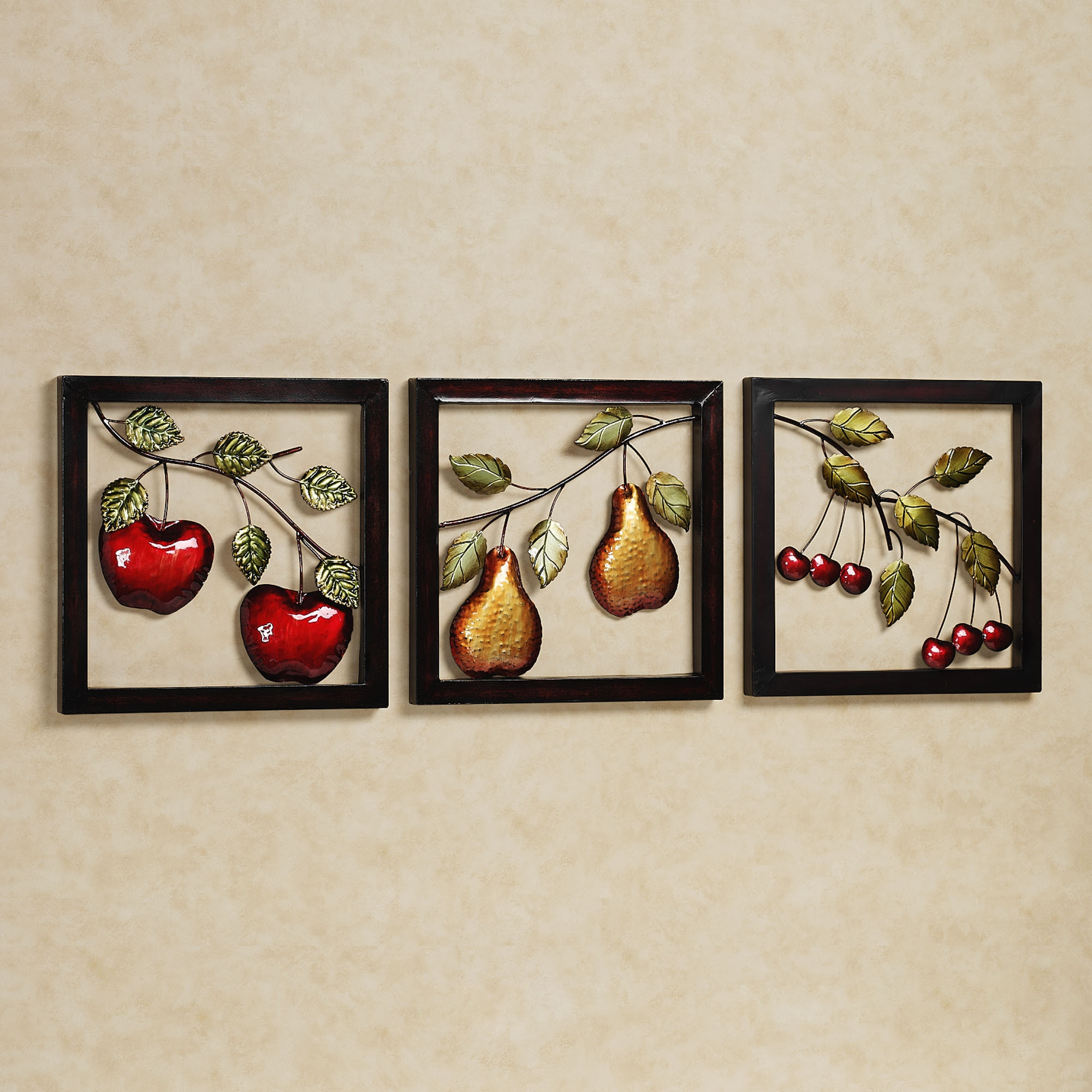 Cherry Fruit Kitchen Decor