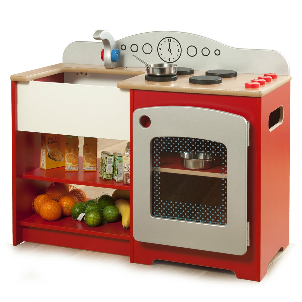 Childrens Wooden Kitchen Playsets