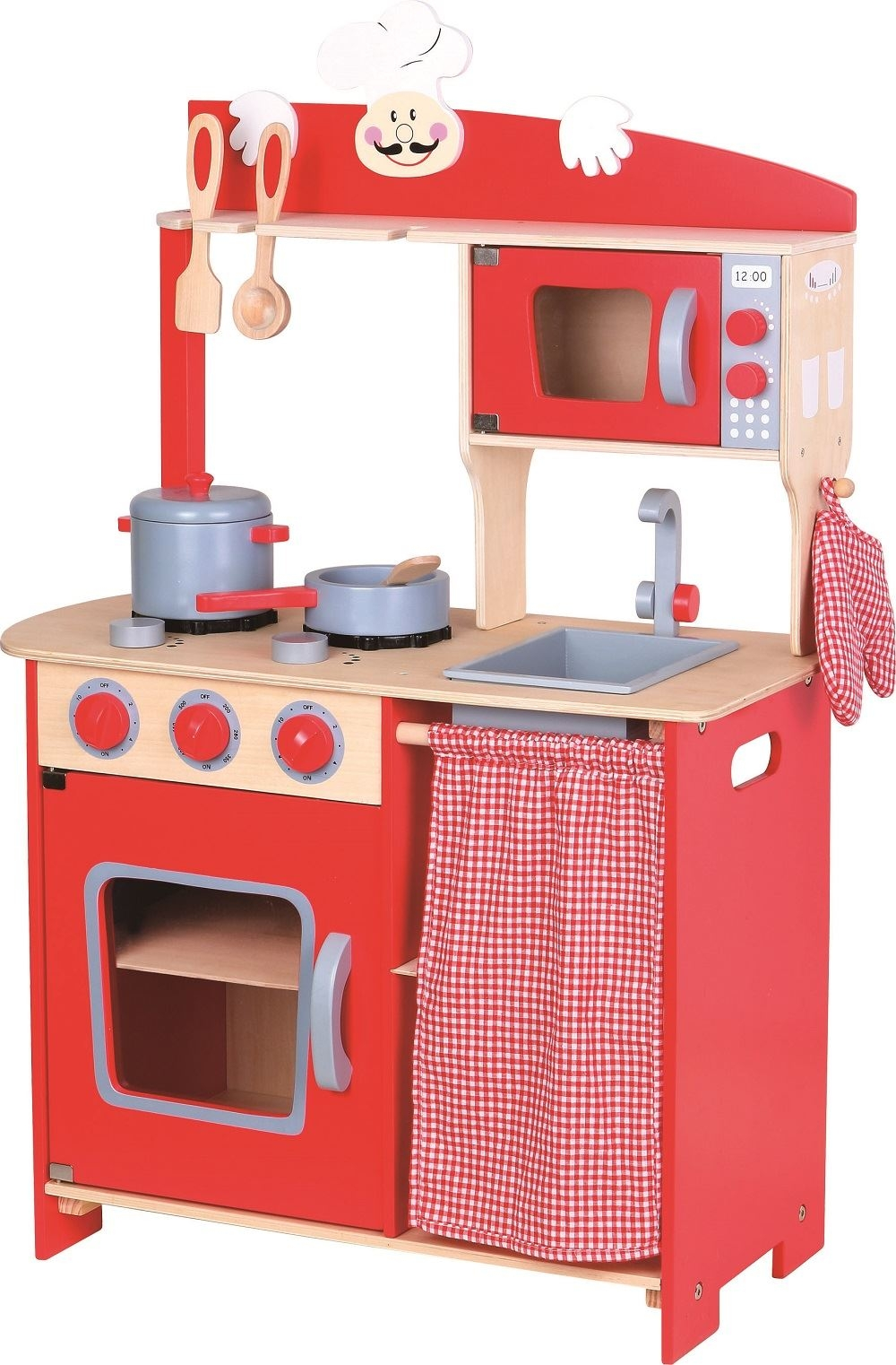 Childrens Wooden Play Kitchen Sets