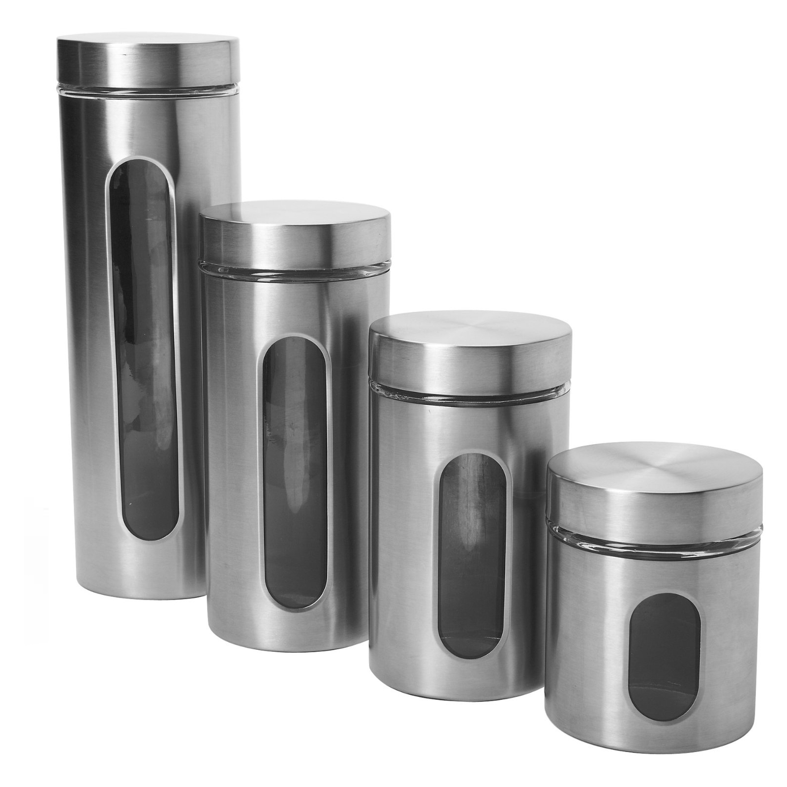 Permalink to Chrome Kitchen Canister Sets