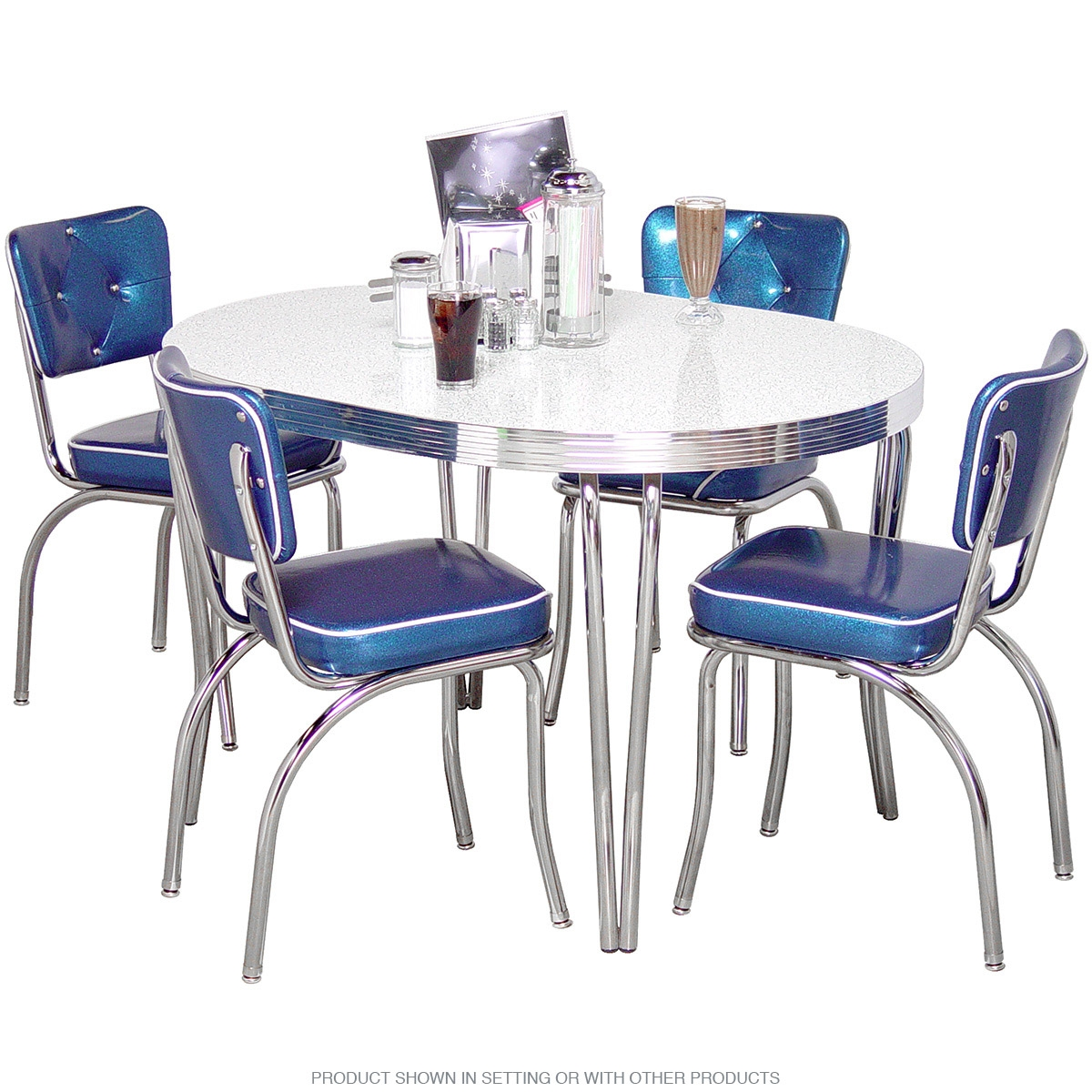 Chrome Kitchen Dinette Sets