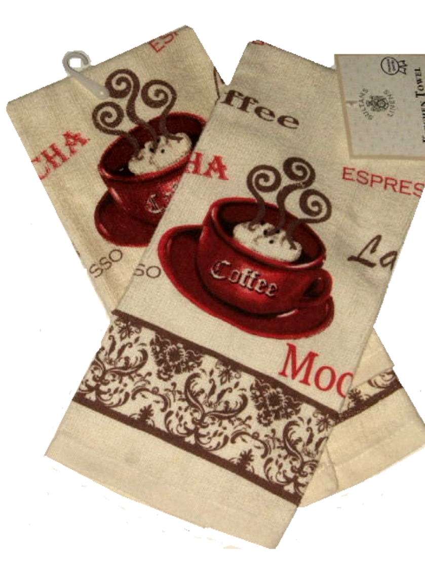 Permalink to Coffee Kitchen Linen Set