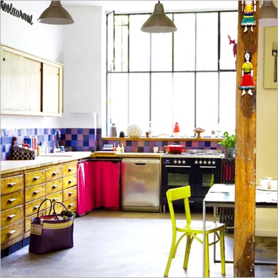 Colorful Kitchen Decorating Ideas