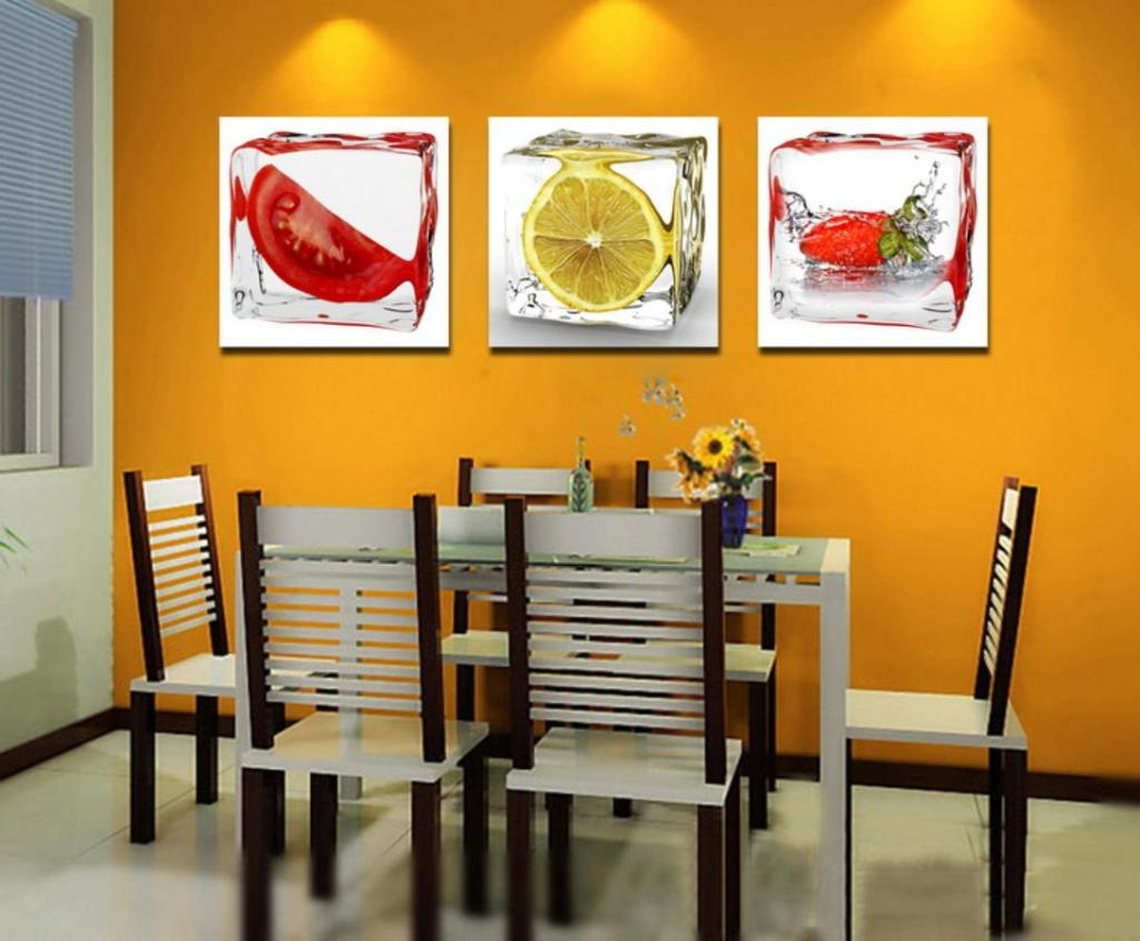 Colorful Kitchen Wall Decor
