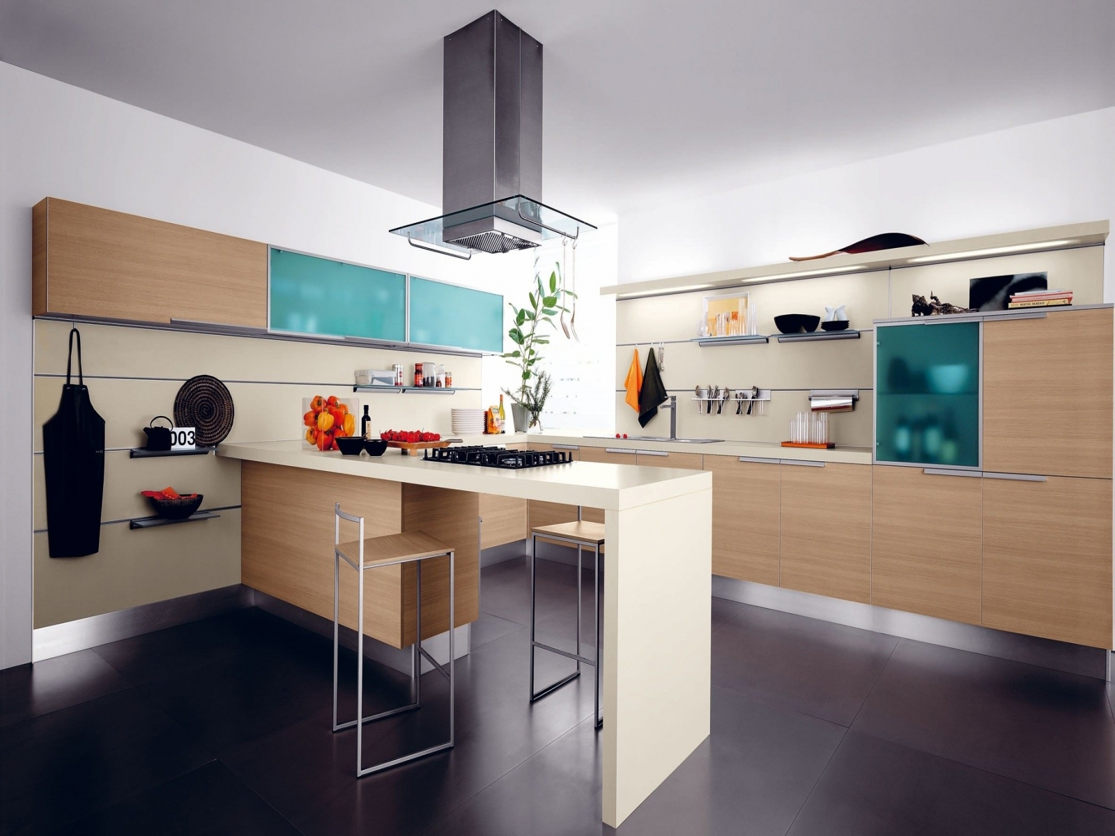 Contemporary Kitchen Decorating Themes